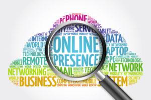 présence en ligne